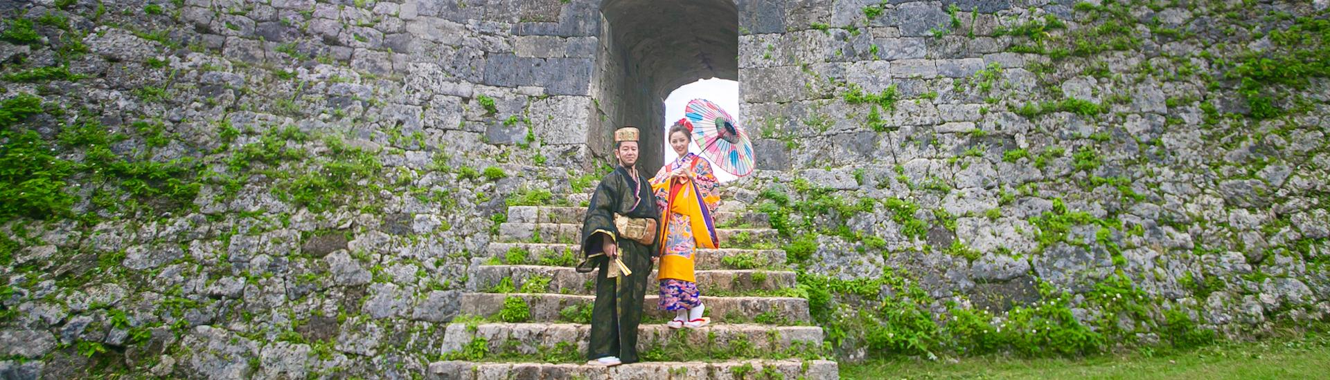 #沖縄琉球衣装+洋装プラン(10Pスタンダードアルバム付)