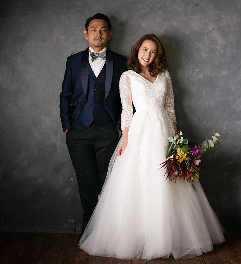 写真撮影追加衣装 ウェディングドレス タキシード