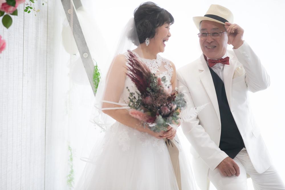 金婚式夫婦フォト