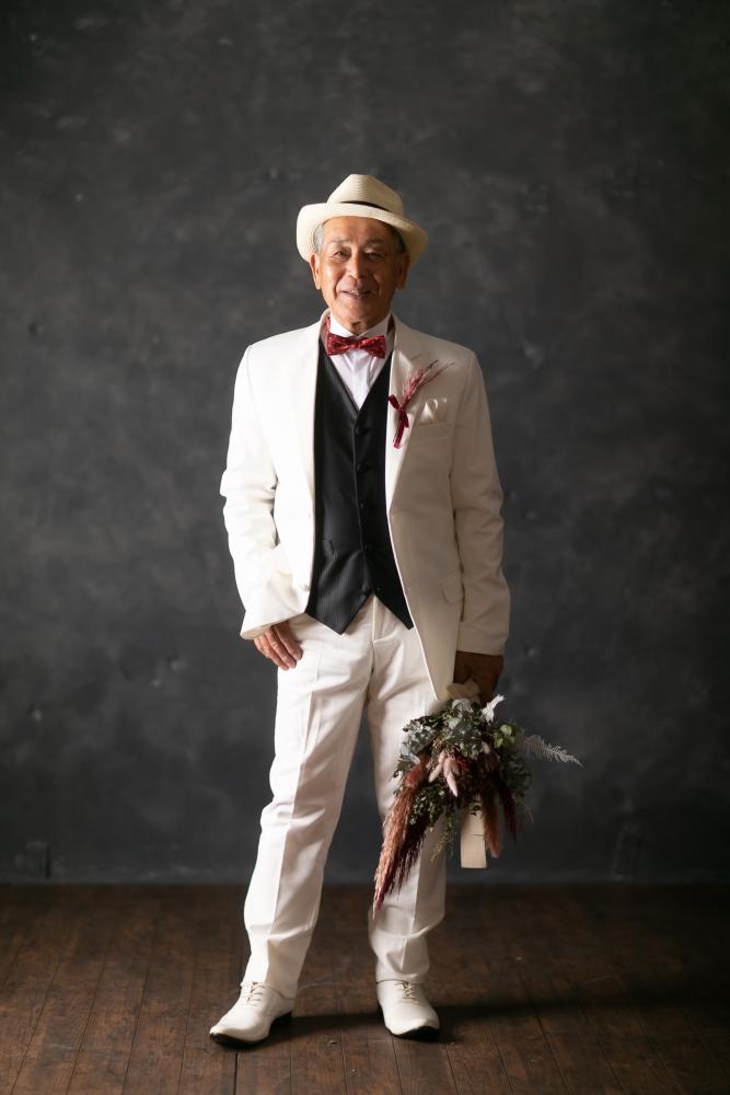 銀婚式の旦那様