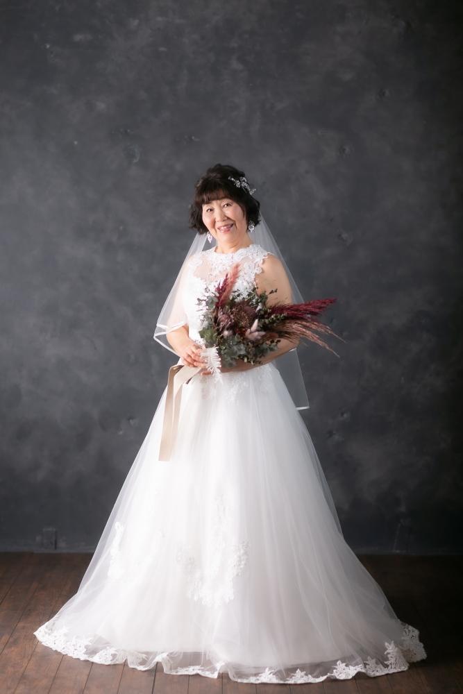 銀婚式を迎える奥様