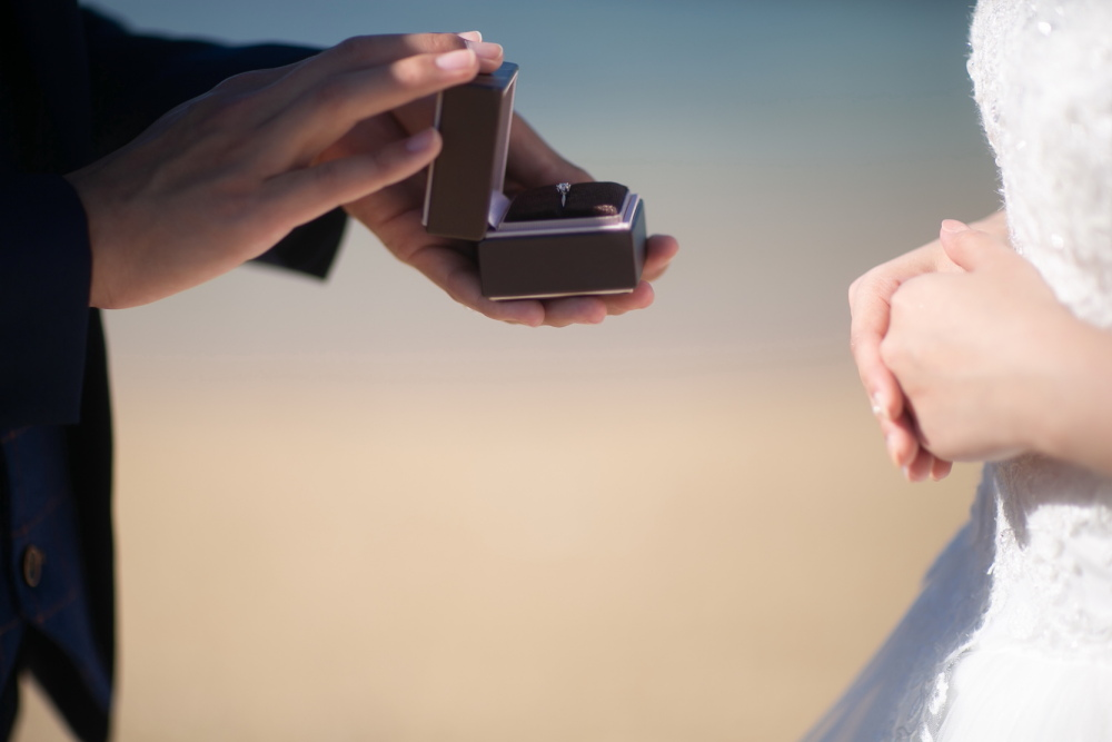 プロポーズ指輪