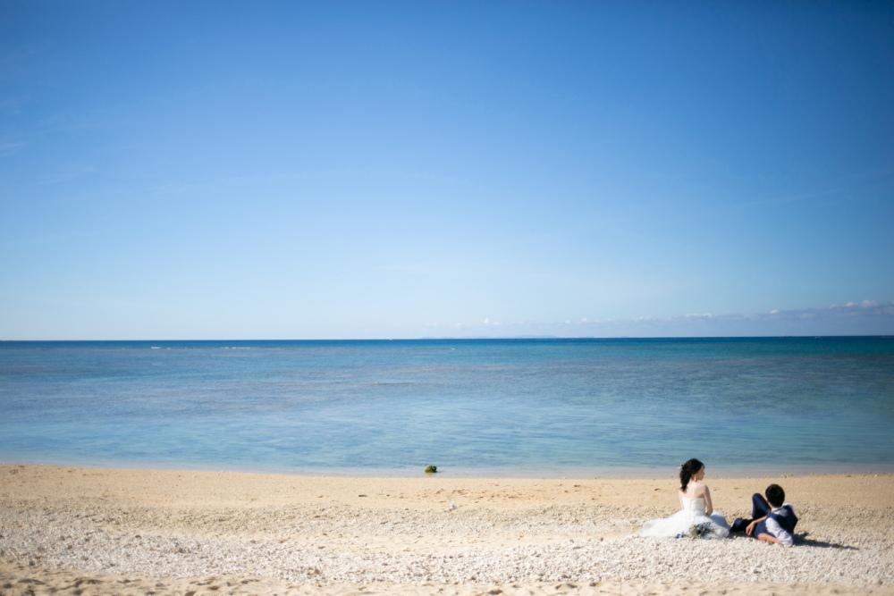 海でゆっくり過ごす