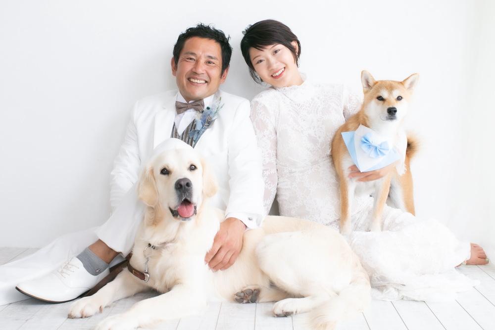 愛犬とstudio Photo